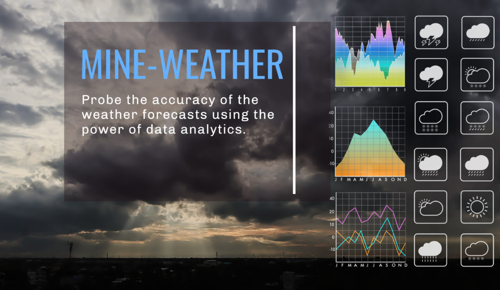 Mine-Weather weather forecast analytics tool