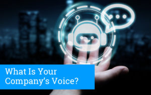 Choosing the voice of your company