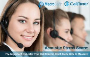 Acoustic Stress Score