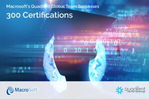 Macrosoft 300 Quadient Certifications