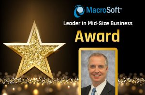 Macrosoft's John Kullmann is the Delta Dental Leader in Mid-Size Business Award Honoree