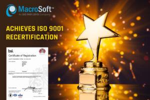 ISO Recertification 2021